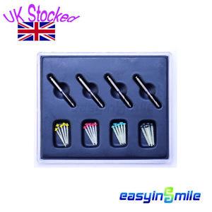 1Kit Dental Fiber Post Quartz Glass Screw Endo Post Core 4 Drills Easyinsmile