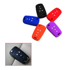 Red Silicone Key Case Protective FOB Cover 4 buttons for BUICK Regal