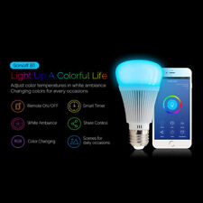 Sonoff B1 Smart Home Wifi Light Bulb Wireless Dimmable RGB LED Lamp 6W E27