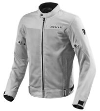 GIACCA JACKET SUMMER TRAFORATA ESTIVA MOTO REVIT REV'IT ECLIPSE SILVER GREY TG L