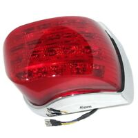 Vespa LED TailLight Rear Lamp Chrome LML Star Stella Delux PX 125 150 200 ECs