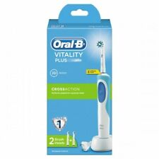 NEW Oral-B Vitality Plus Rechargeable Electric Toothbrush - 2D Cross Action