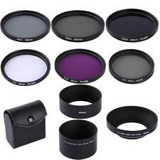 49mm UV CPL FLD ND2 4 8 Neutral Density Lens Filter Kit For Sony NEX-5/6/7 18-55