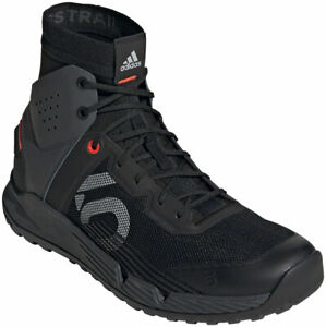 Five Ten Trailcross Mid Pro Flat Shoes | Core Black / Grey Two / Solar Red | 9