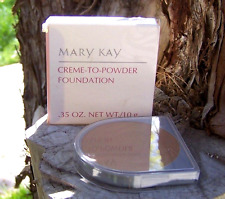 Mary Kay Creme-to-Powder foundation Beige 1.0 #3103 Nos lot of 2