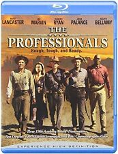 Blu Ray THE PROFESSIONALS Burt Lancaster, Lee Marvin. UK compatible. New sealed.