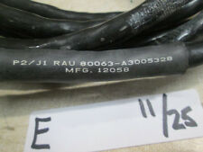 16' RAU Cable, Used, for Military Electronics
