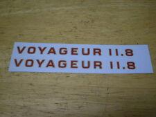 Schwinn Voyageur 11.8 Bicycle Water Transfer Chainguard Decal Set