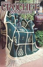 Annie's Crochet Newsletter No. 89 Pineapple Applique, Afghan, Lily Filet Sets