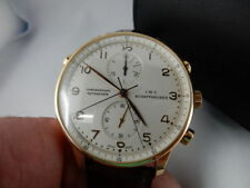 Mechanische Armbanduhren (Handaufzug) IWC Gelbgold