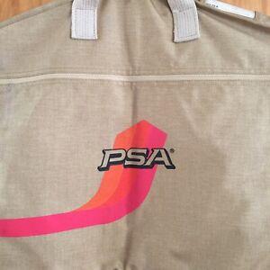 Rare Vintage PSA Pacific Southwest Airlines Garment Bag