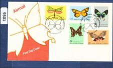 Butterflies Papua New Guinean Stamps