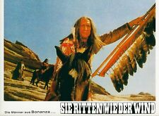 Bonanza - Sie ritten wie der Wind ORIGINAL Aushangfoto Greene / Landon WESTERN