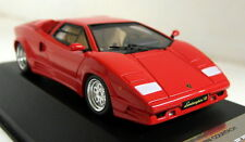 PremiumX 1/43 Scale PR0186 Lamborghini Countach 25th 1989 Red Resin model car
