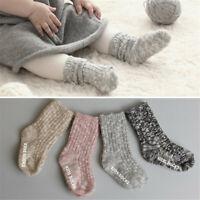 Floor Toddler Warm US Socks Thick Girl Baby Cute Non-slip Boy Kid Knitting