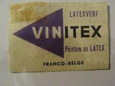 Etiquette allumette - VINITEX - Peinture au Latex - (139)