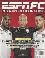 ESPN FC soccer magazine World Cup guide Tim Howard Jozy Altidore Clint Dempsey
