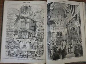 genre L'ILLUSTRATION : LE MONDE ILLUSTRE Année 1864 (Nr 351 à 376) 1er semestre