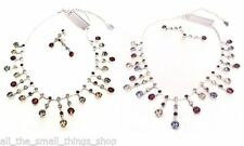 Swarovski Crystal Statement Costume Necklaces & Pendants