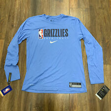 Men's Nike NBA Memphis Grizzlies Team Issued Practice Warm-Up DriFit T-Shirt M