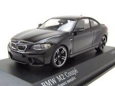 BMW M2 Coupé 2016 NEGRO, Coche Modelo 1:43 / MINICHAMPS