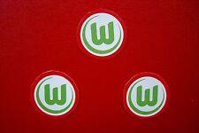 3 Aufkleber vom VfL Wolfsburg