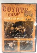 DVD-Jones & Locklear, COYOTE CHAOS Make 'em pay! Trapping DVD Traps Predator