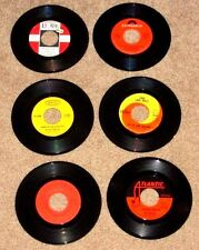 ROCK LOT 6 RECORDS 45 RPM PETER AND GORDON MOODY BLUES RASCALS PAUL REVERE VG+