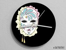 Viennese Mask Wall Clock