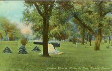 Wichita KS The Cannon in Riverside Park