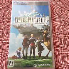 New PSP Final Fantasy III 3 Japan Video Game English   FFIII FF3
