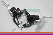 SHIMANO Deore XT ST-M770 Dual-Control V-Brake/Shifter Lever Set 3 x 9-speed