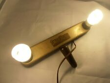 movie Camera Antique clamp hand held Lamp Steam punk bath/office Smith Victor