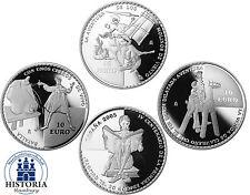 Gedenkmünzen- Set Spanien 3 x 10 Euro Silber 2005 PP Silbermünzen Don Quichote