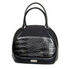 $650 Samsonite Black Label Alexander McQueen Beauty Case Bag Canvas Cowhide