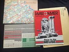 1983 The Wargamer #26 Race to the Meuse Unpunched Game Complete + Envelope