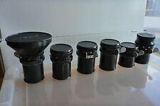 Arriflex Schneider 18mm 28, 35, 50, 75, Arri Standard Mount 5 lens set only!