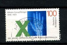 Alemania 1995 Sg # 2625 Wilhem Rontgen los rayos X utilizados #a 24430