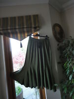 Olive Skirt from Cazz, size UK L, RRP£35, New with tags