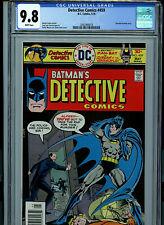 Detective Comics # 459 CGC 9.8 NM/MT  Batman 1976 Comic Amricons K17