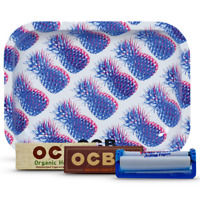 Tobacco Rolling Bundle OCB Tray,Org Hemp & Virgin 1 1/4 Paper,roller otspc01-sml