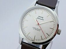 Vintage Men's HMT Janata White Dial Hand-Winding Wrist Watch Excellent Condition