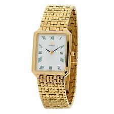Vergoldete Citizen Armbanduhren aus Edelstahl