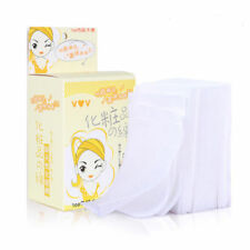 100X/Box Wipes Fresh Clean Cotton Pad Makeup Remover Paper Wipe Facial Cleansing