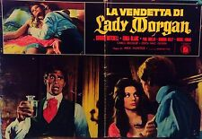 fotobusta lobby card La vendetta di Lady Morgan Massimo Pupillo HORROR