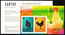 Hong Kong - Affe und Hahn Block 138 postfrisch 2005 Mi. 1283-1284