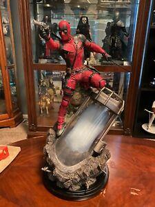 Deadpool Custom Movie 1/4 Scale Statue #55/55 Marvel