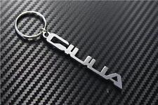 Per ALFA ROMEO GIULIA Keyring Schlüsselring porte-clés quadrifolgi JTDM veloce