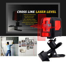 Vertical Horizontal Laser Level Red Green Beam w/ Bracket For Wall Construction