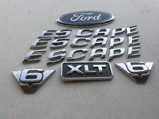 00-06 Ford Escape Xlt V6 Logo YL84-7843500-AB Emblem YL84-16C144-AB Ornament Set